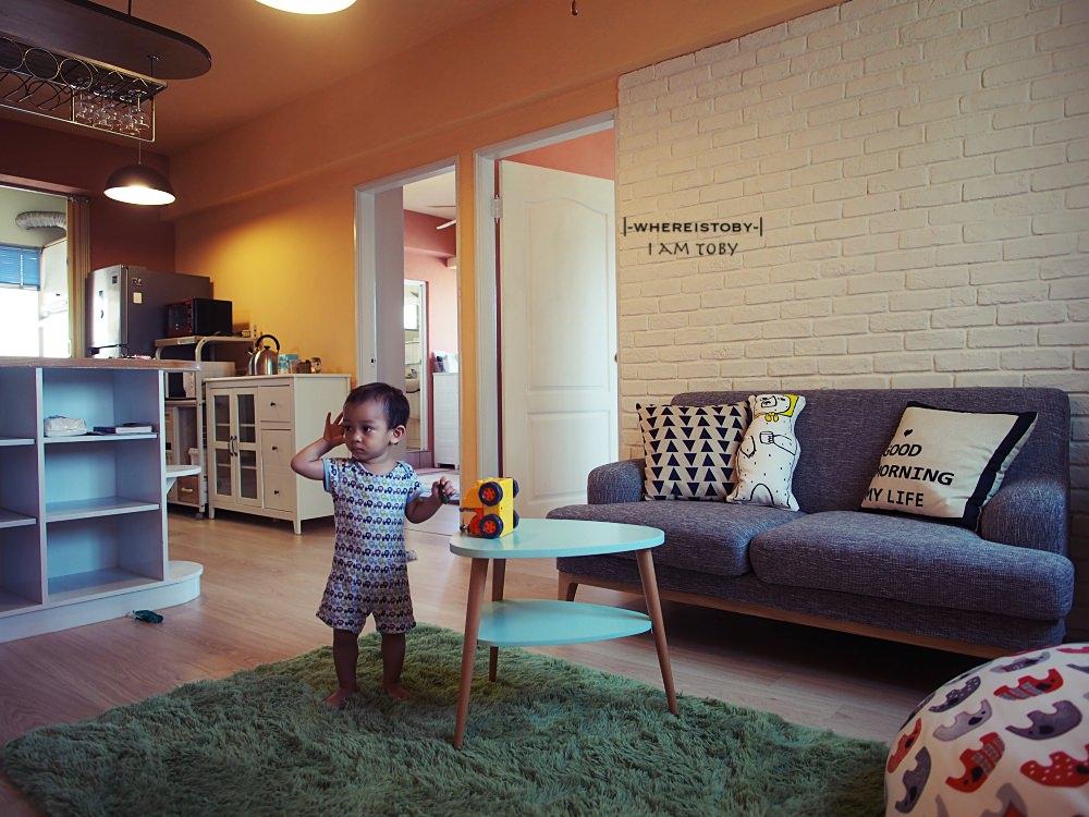 公寓DIY裝修2。一淘深似海的歐丹尼斯精緻傢俱終於到貨了