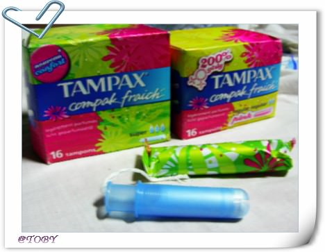 棉條再戰~推TAMPAX!