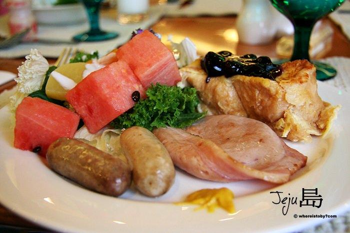 濟州島JeJu。韓國航空飯店早餐真的是太棒了!